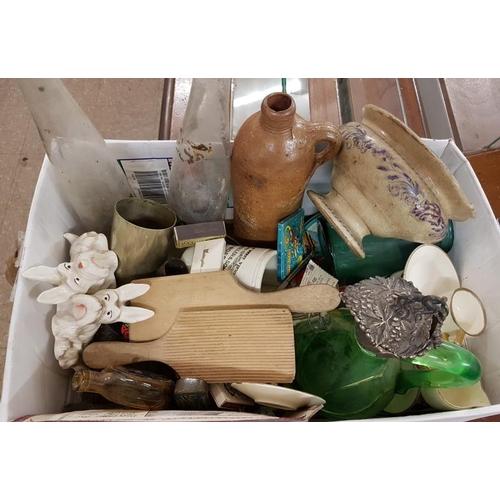 62 - Box of Ceramics, Glasswares, etc....