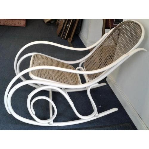 68 - Thonet Rocking Chair...