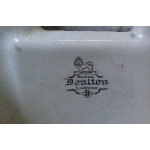 107 - Two Small Royal Doulton Belfast Sinks...