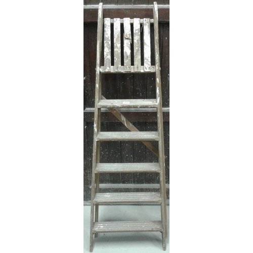 199 - Timber Step Ladder, c.5ft...