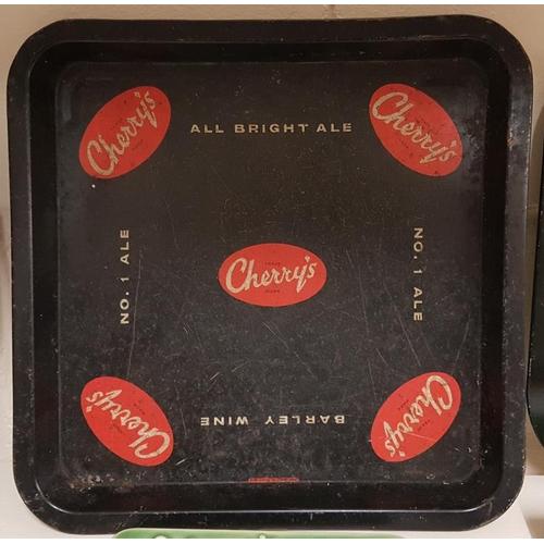 234 - Original Cherry's All Bright Ale Serving Tray, c.13 x 13in...