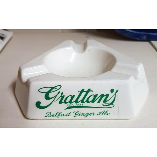 239 - Grattan's Belfast Ginger Ale Ashtray by Arklow...