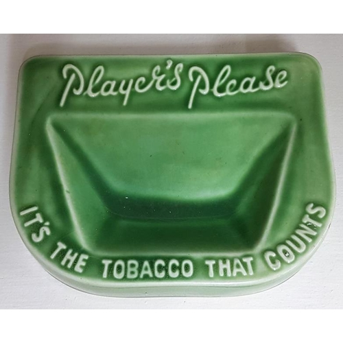 242 - Player's Please, It's The Tobacco That Counts Change/Tip Tray by Bourne Denby...