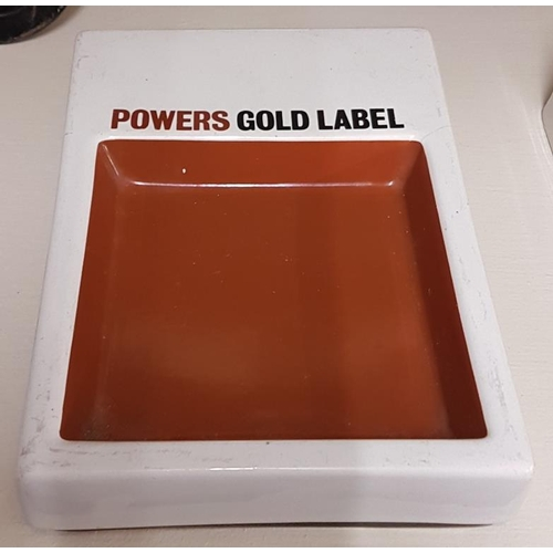 243 - Power's Gold Label Ashtray by Arklow...