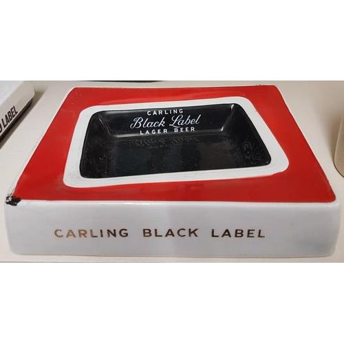 244 - Carling Black Label Lager Beer Ashtray...