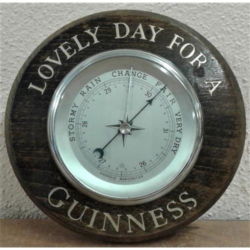 251 - Guinness Barometer - 8ins Diameter...