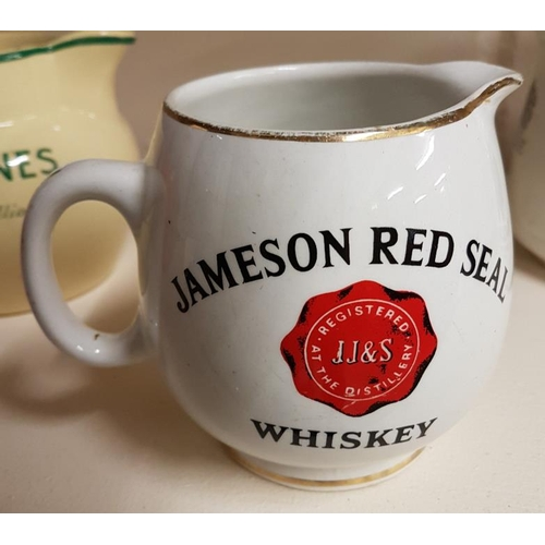 257 - Jameson Red Seal Whiskey Water Jug by Arklow, c.4.5in...