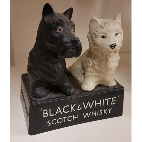 266 - Black & White Scotch Whisky Advertising Dog Figures...