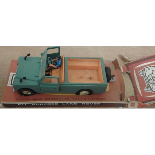 362 - Die Cast Model of Land Rover (boxed) Cat. No. 9676 in original box...