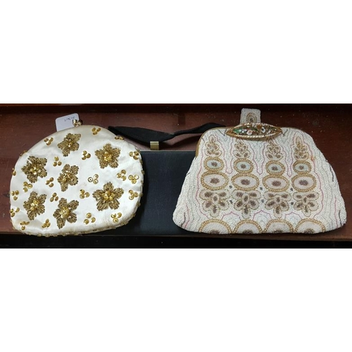 321a - Three Vintage Evening Bags...
