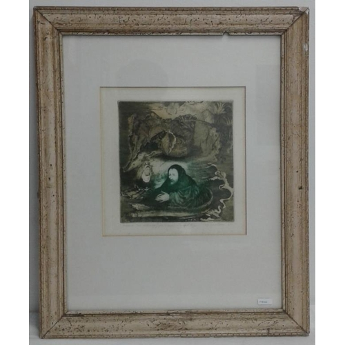 477 - Framed Limited Edition Print - Overall c. 19 x 23ins...