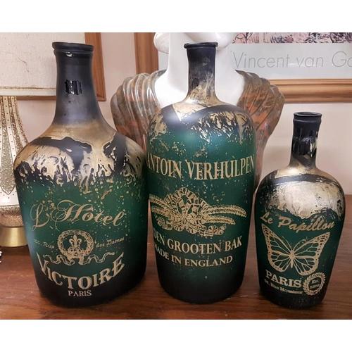 481 - Set of Three Paris Bottles...