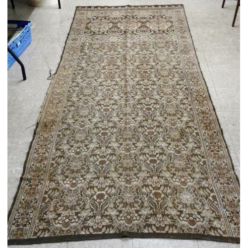 522 - Wall Tapestry - c. 47ins Wide x 10ft long...