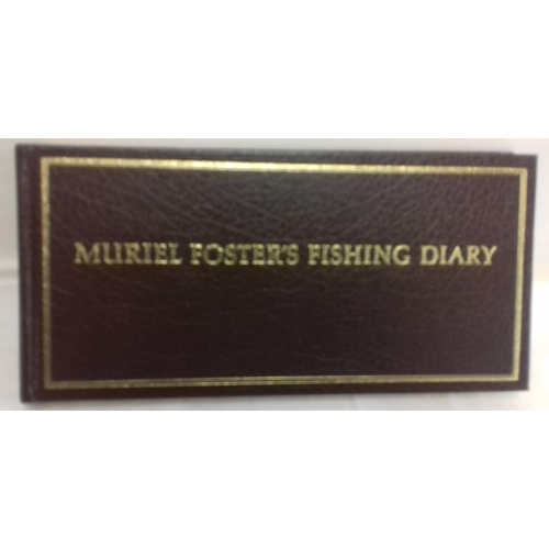 545 - Muriel Foster's Illustrated Fishing Diary. Facsimile reproduction, boxed...