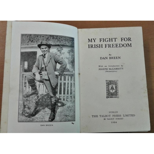 549 - 'My Fight for Irish Freedom' by Dan Breen - Hardback, First Edition...