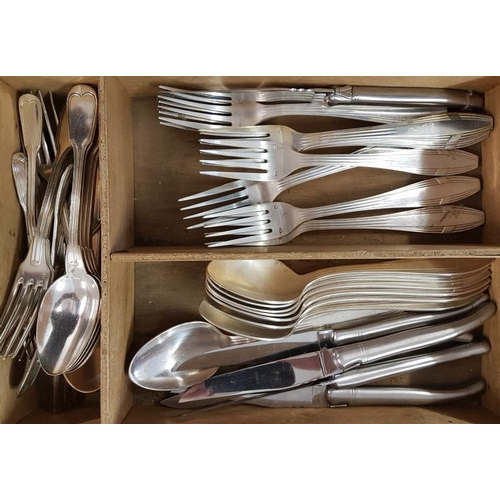 631 - Collection of French Silver Plated Cutlery...