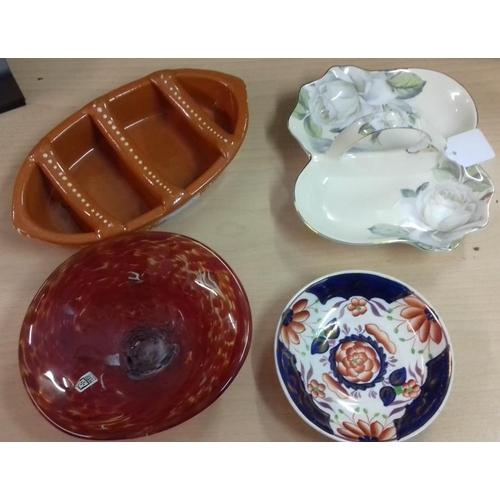 638 - Four Pieces of Porcelain, etc....