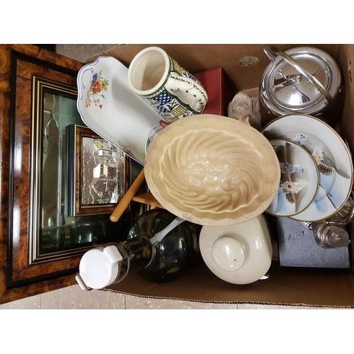 642 - Box of Various Ceramics...