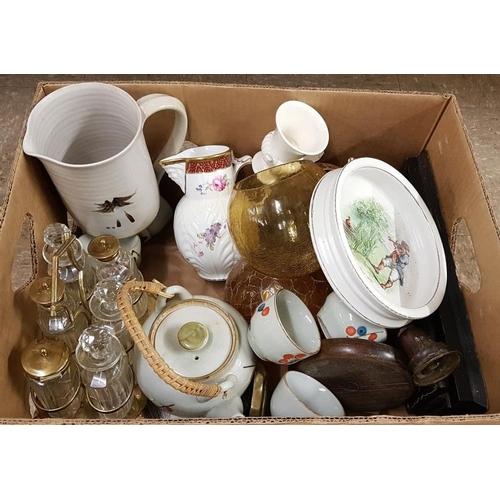 643 - Box of Various Ceramics, etc....