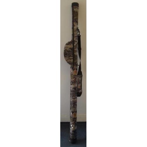 646 - Westfield Fishing Rod & Reel Hard Tube case, Modern...