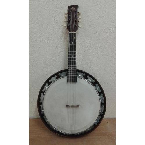 652 - G H & S 8-String Banjo...