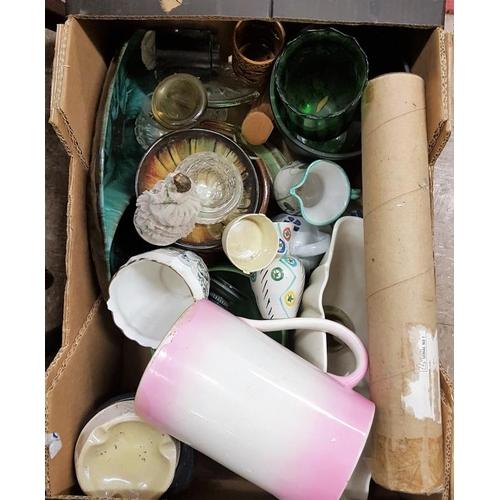 42A - Box of Ceramics and Glass Wares etc....