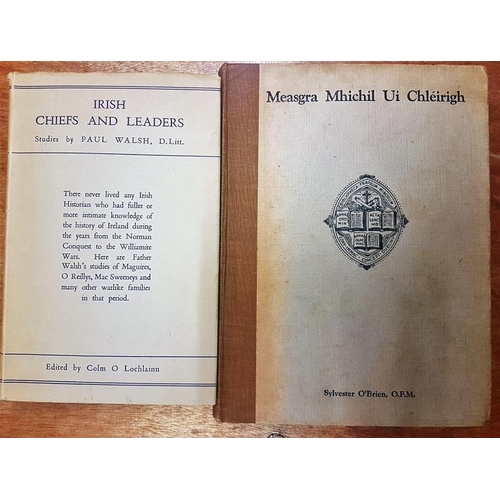 31 - <em>'Irish Chiefs And Leaders' </em>and '<em>Measgra Mhichil Ui Chleirigh' (2)</em>...