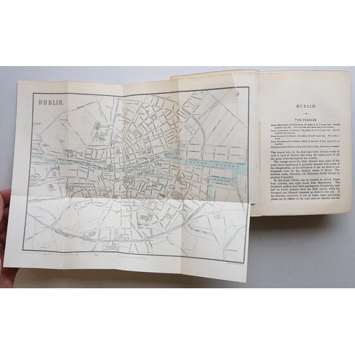 35 - <em>'Black's Guide to Ireland'</em> (complete with Maps) 1876. 423 pages +104 pages ads...