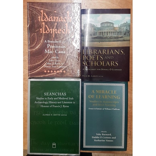 37 - <em>'Librarians, Poets and Scholars' </em>and three other similar interest books...