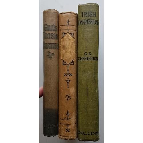 44 - J. J. O'Kelly <em>'Gills Irish Reciter'</em> 1921; G. K. Chesterton <em>'Irish Impressions'</em> 191...