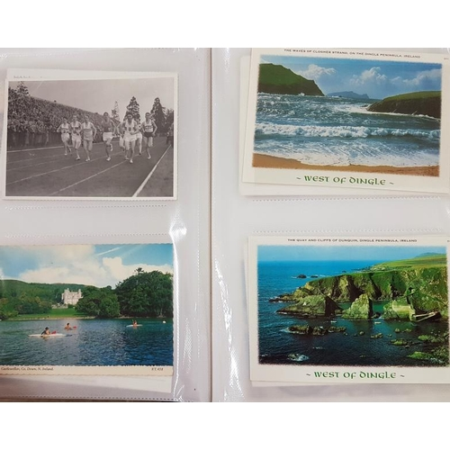 14A - Album of c. 200 Postcards (some Irish)...