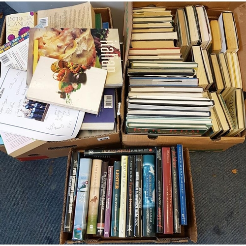 37 - Three Boxes of General Interest Books...