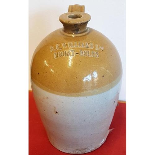 164 - DEW Williams Ltd, Mount-Bolus Whiskey Jar, c.12in tall...