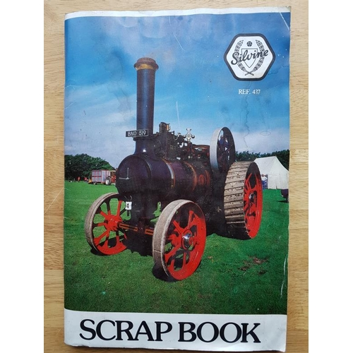 6 - Irish Railwayana Scrap Book, tickets, correspondence, notices etc....
