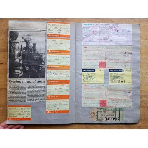 8 - Irish Railwayana Scrap Book, County Donegal Railways, Northern Ireland Railways, Great Northern Rail...