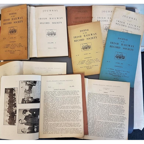 18 - Irish Railway Record Society Journal, various c.1940's-60's...