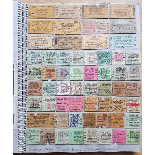 21 - Large Album of Railway Tickets, Notices etc....
