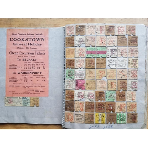 21 - Large Album of Railway Tickets, Notices etc....
