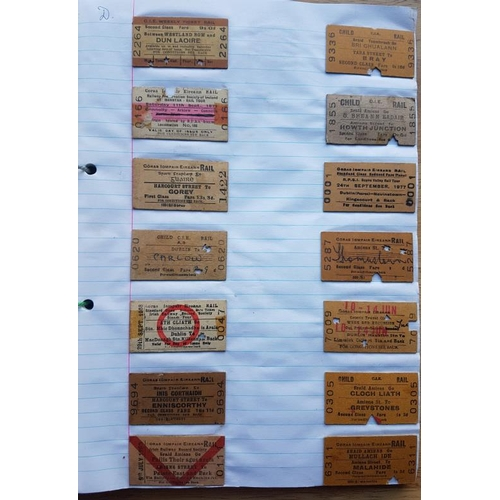22 - Large Album of Railway Tickets, Photographs etc....