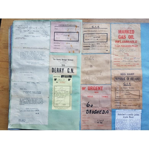 23 - Large Scrap Album of Tickets and Notices etc....