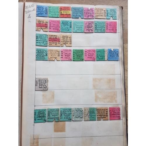 32 - Album of Railway Tickets etc...