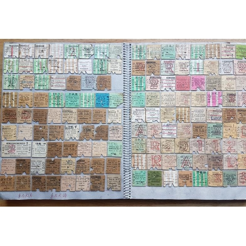 33 - Scrap Album of Railway Tickets and Notices etc....