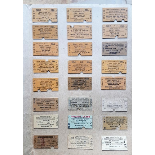 35 - Collection of Railway Tickets, Pope's Visit etc....