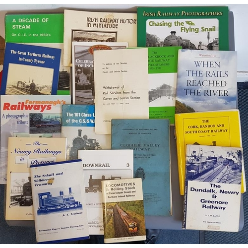 36 - Bundle of Irish Railway Interest Books/Booklets, c.16...