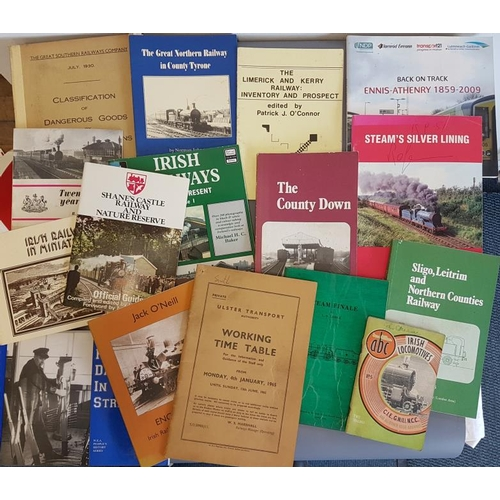 37 - Bundle of Irish Railway Interest Books/Booklets, c.16...