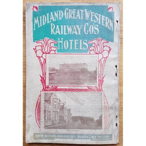 42 - Midland Great Western Railway of Ireland, Achill, Connemara and West of Ireland, Tourist Arrangement...