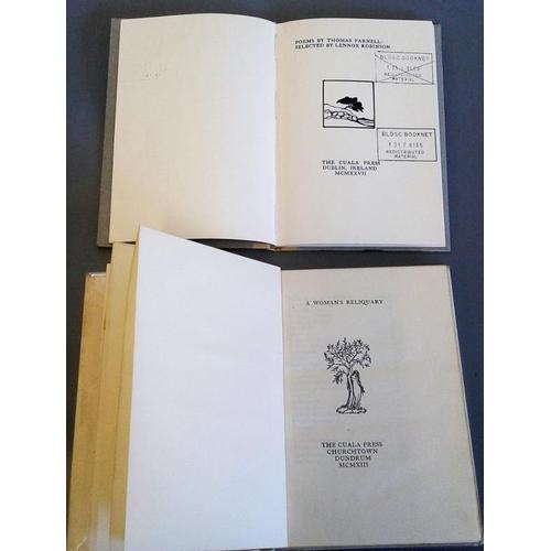 176 - <em>A Women's Reliquary</em> Cuala Press 1913, first edition with original coloured broadside, un-op...