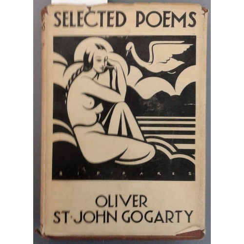 177 - <em>Oliver St. John Gogarty - Selected Poems</em>, with forewords by A.E….and Horace Reynolds...