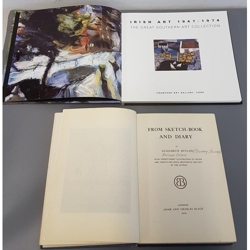 217 - <em>The Great Southern Art Collection 1947-1974</em> with colour plates and Elizabeth Butler (Bansha...