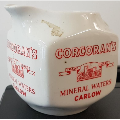 5 - <em>Corcoran's Mineral Waters, Carlow</em> Water Jug by Arklow (as found), c.4.5in tall...